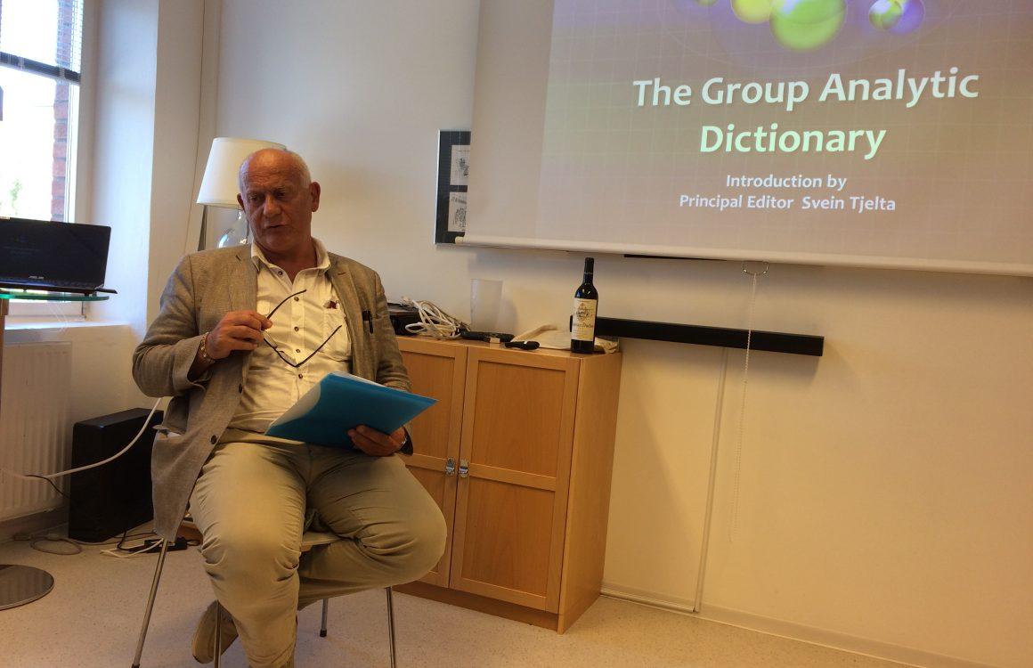 Takk Svein for et interessant medlemsmøte!